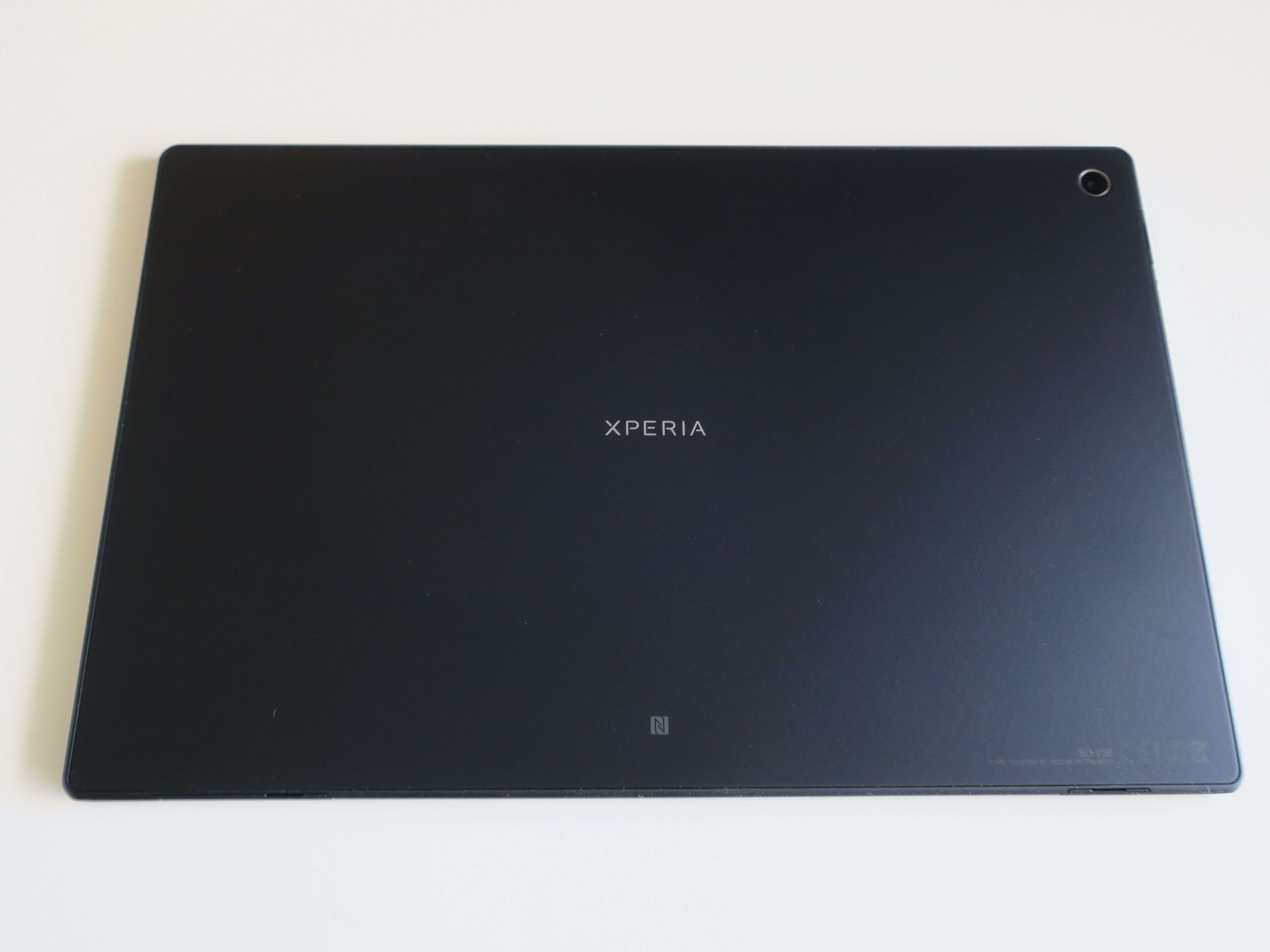 SONY Xperia Tablet Z Wi-Fiモデル SGP312JP/W 防水対応10.1型液晶搭載Androidタブレット