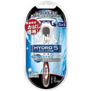 ハイドロ5 お試しホルダー 替刃1コつき 替刃をまとめて買うと500円OFF