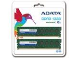 A-DATA AD3U1333C4G9-2 DDR3 PC3-10600 デスクトップ用メモリ 4GBx2セット