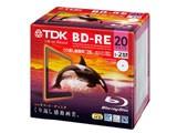 TDK BEV25PWA20A 録画用2倍速 ブルーレイディスク 25GB 20枚パック