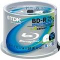 TDK BRV25PWB50PK 録画用ブルーレイディスク BD-R 25GB 1-4倍速 50枚スピンドル