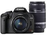 CANON EOS Kiss X3 ダブルズームキット デジタル一眼レフカメラ