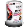 TDK DR120DPWB100PU 録画用DVD-R 8倍速 スピンドル100枚パック