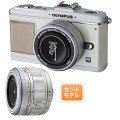 OLYMPUS PEN E-P2 プレミアムキット 1230万画素 マイクロ一眼レフカメラ