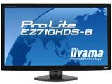 IIYAMA ProLite E2710HDS オーバードライブ機能搭載 27型ワイド液晶モニター