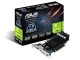 [サイバーマンデー] ASUSTeK GT730-SL-2GD3-BRK LowProfile用ブラケット付属 ファンレス仕様ビデオカード