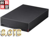 BUFFALO HD-NRLD4.0U3-BA USB3.1/USB3.0用 外付けHDD 4TB