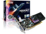 MSI N220GT-MD1G LP GeForce GT220搭載 ビデオカード