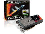 MSI N480GTX-M2D15 	GeForce GTX 480搭載 ビデオカード
