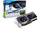 MSI N660GTX Twin Frozr III OC GeForce GTX 660搭載 ビデオカード