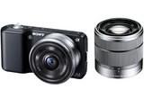 SONY α NEX-3D ダブルレンズキット 1420万画素 デジタル一眼レフカメラ