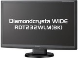 MITSUBISHI Diamondcrysta WIDE RDT232WLM 23型液晶モニター
