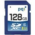 PQI SD10U11-128SDXC メモリーカード Class 10 UHS-1 128GB
