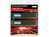 Silicon Power DDR3 PC3-10600 デスクトップ用 2GBメモリ 2枚組
