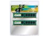 Silicon Power SP016GBLTU160N22 DDR3-1600(PC3-12800) デスクトップ用メモリ 8GB×2枚組