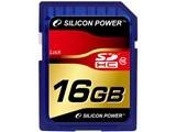 Silicon Power SP016GBSDH010V10 SDHCカード 16GB Class10