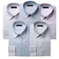 紳士服コナカ 形態安定加工 カラーワイシャツ5枚セット