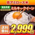 平成25年産 福島県産ミルキークイーン 10kg