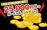 ポンパレモール 一周年記念セール 金額に合わせてポイントをプレゼントするキャンペーン開催中!