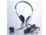 ELECOM  MS-HS58V マルチメディアヘッドセット