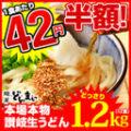 どんまい 楽天市場店 本場讃岐うどん 1.2kg(12食)